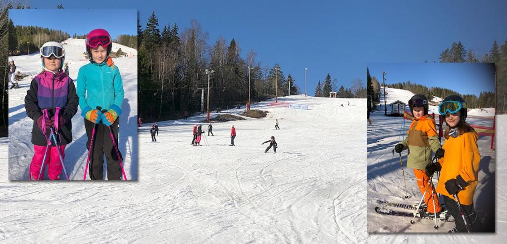 Bäckseda skola skidor